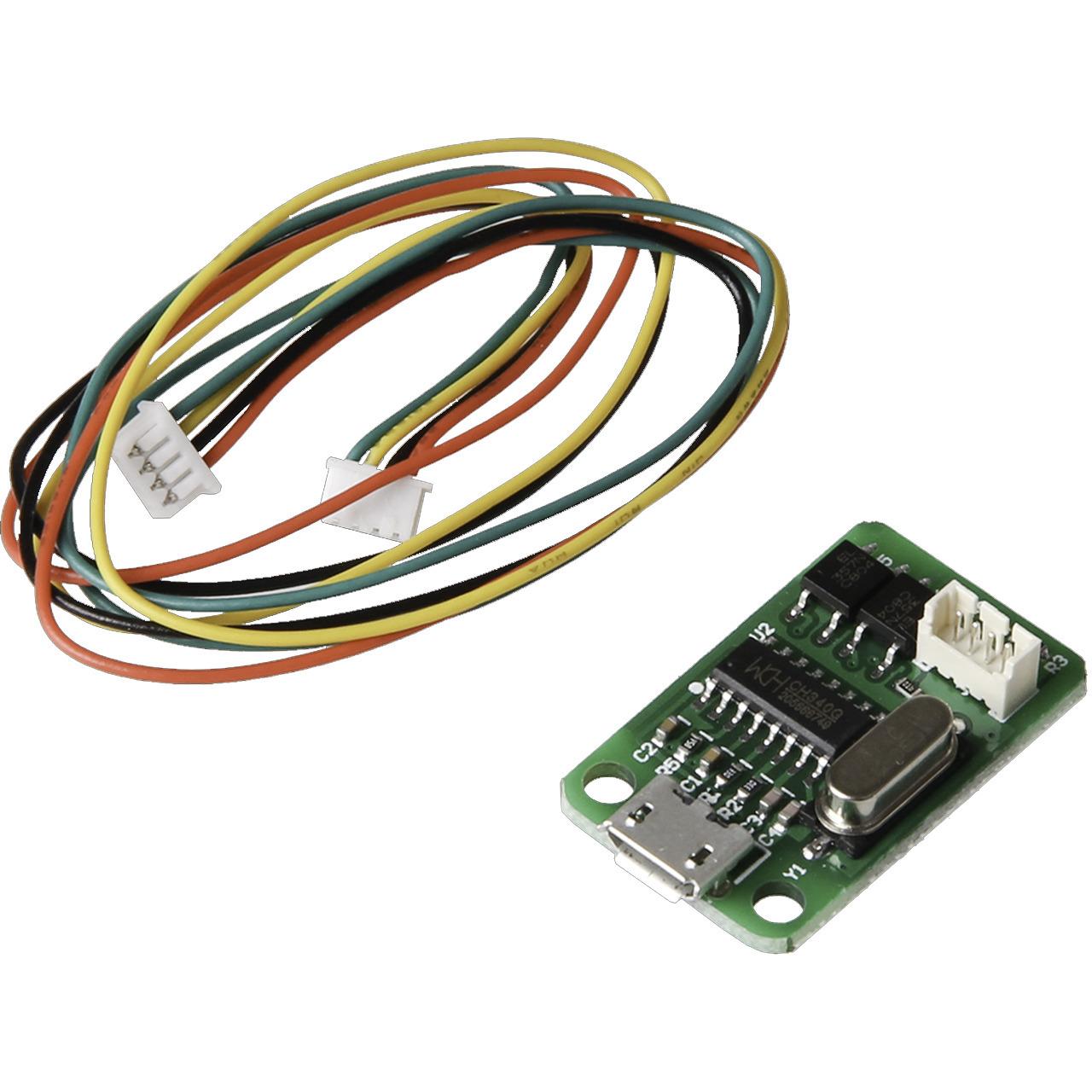 JOY-iT USB-Erweiterungsmodul fund-252 r JT-DPS5005 und JT-DPS5015 inkl Verbindungskabel (zum DPS 5005-15)