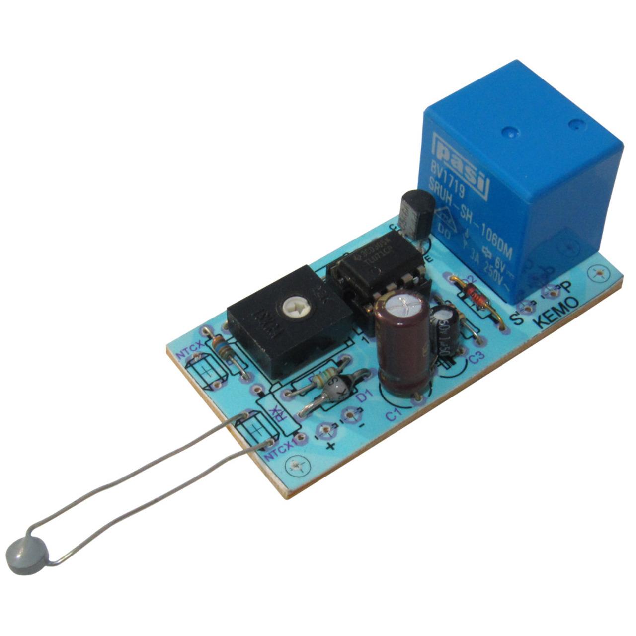 Kemo Bausatz B048 12-V-Temperaturschalter