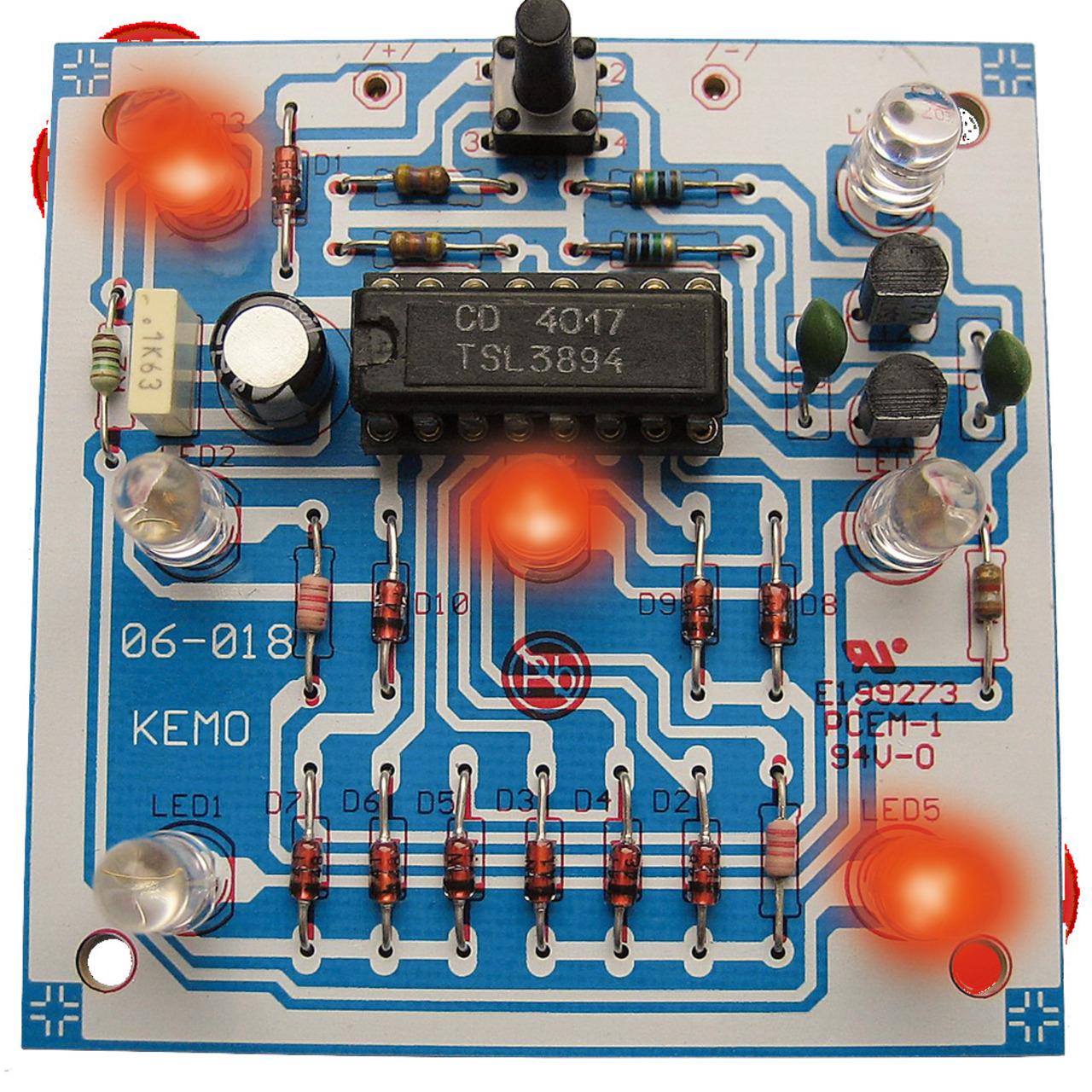 Kemo Bausatz B093 Elektronischer Würfel