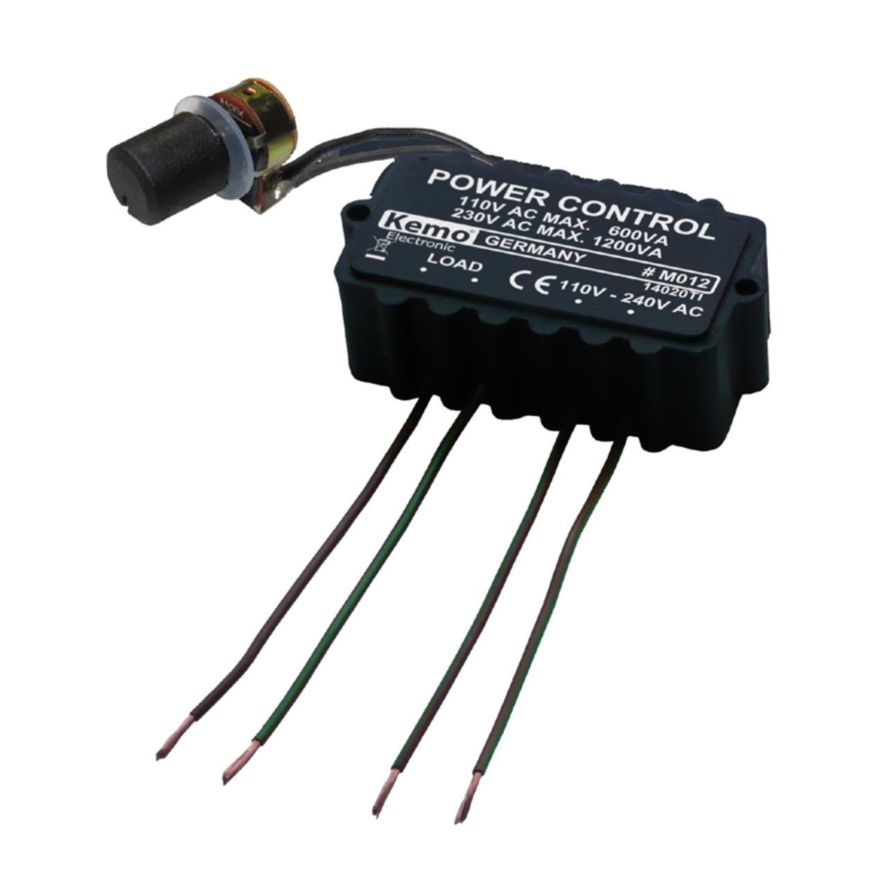 Kemo Leistungsregler M012- 110 - 240 V-AC- 1200 VA
