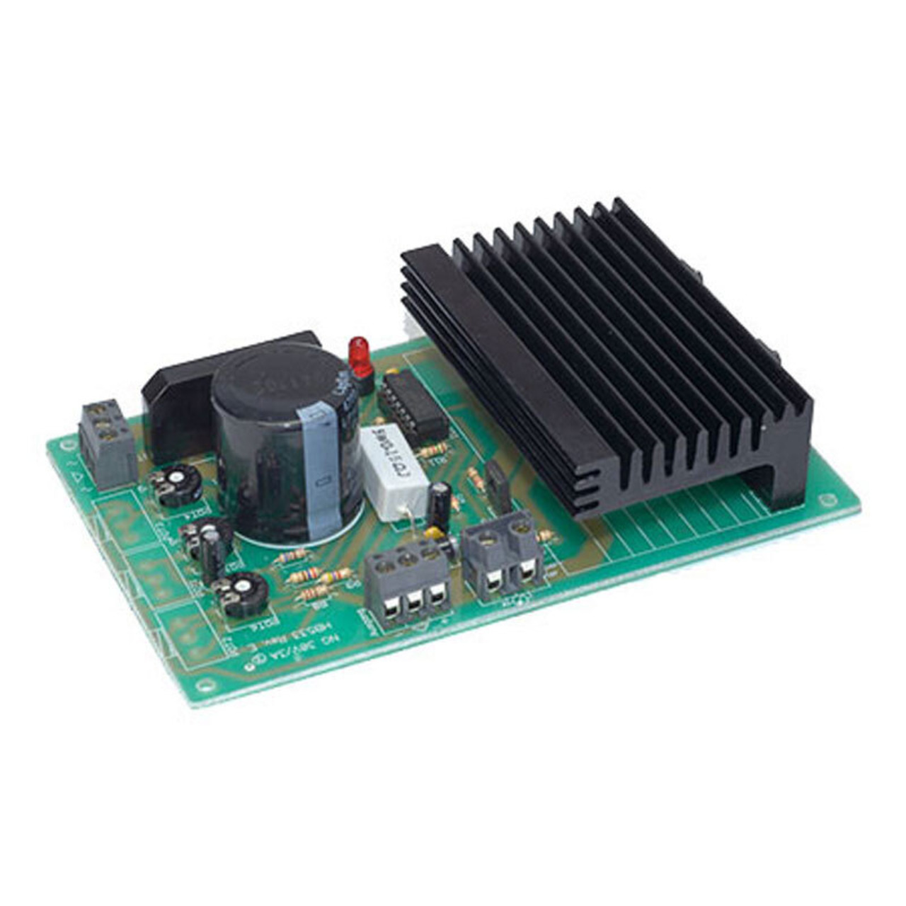 Labornetzteilbaustein 1-30 V- 0-3 A