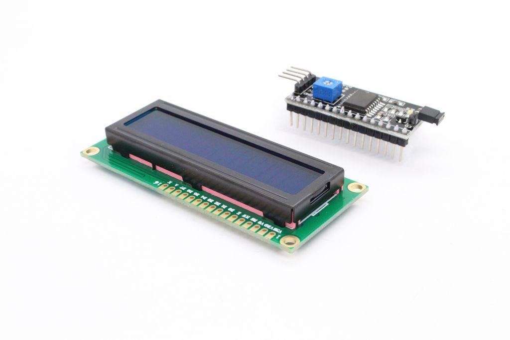 LCD Display Modul 1602 HD44780 mit TWI Controller
