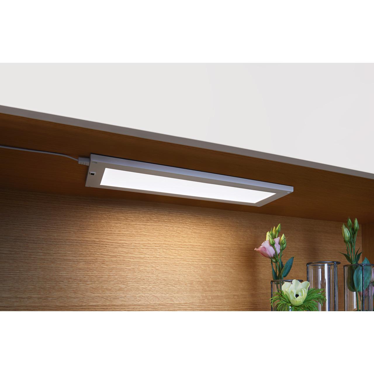 Ledvance 5-W-LED-Panel CABINET- 300 x 100 mm- mit Bewegungssensor- stufenlos dimmbar- IP20