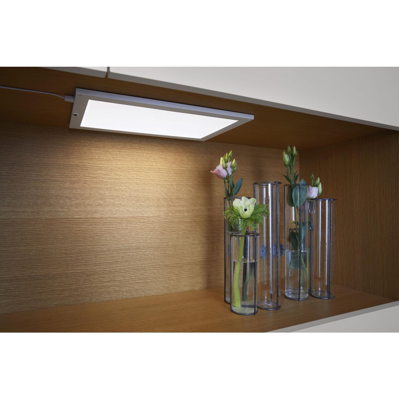 Ledvance 7-5-W-LED-Panel CABINET- 300 x 200 mm- mit Bewegungssensor- stufenlos dimmbar- IP20