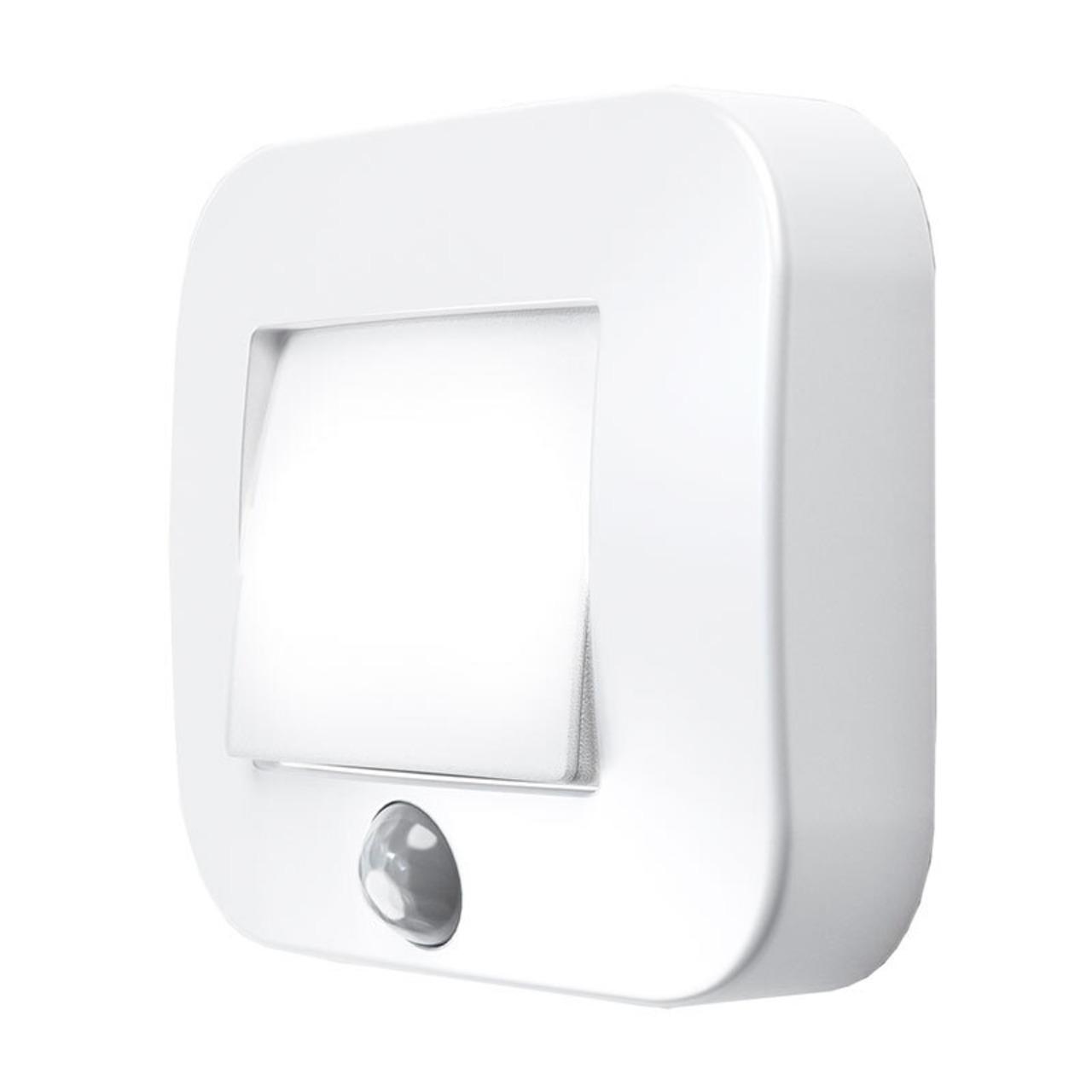 Ledvance Nightlux Batterie-LED-Licht mit Bewegungsmelder- weiss