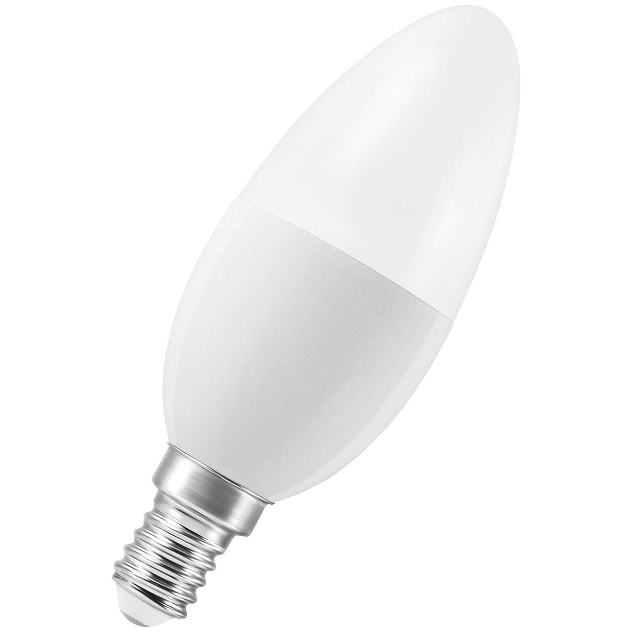 Ledvance SMART+ 6-W-LED-Kerzenlampe E14- dimmbar- ZigBee- Sprachsteuerung möglich