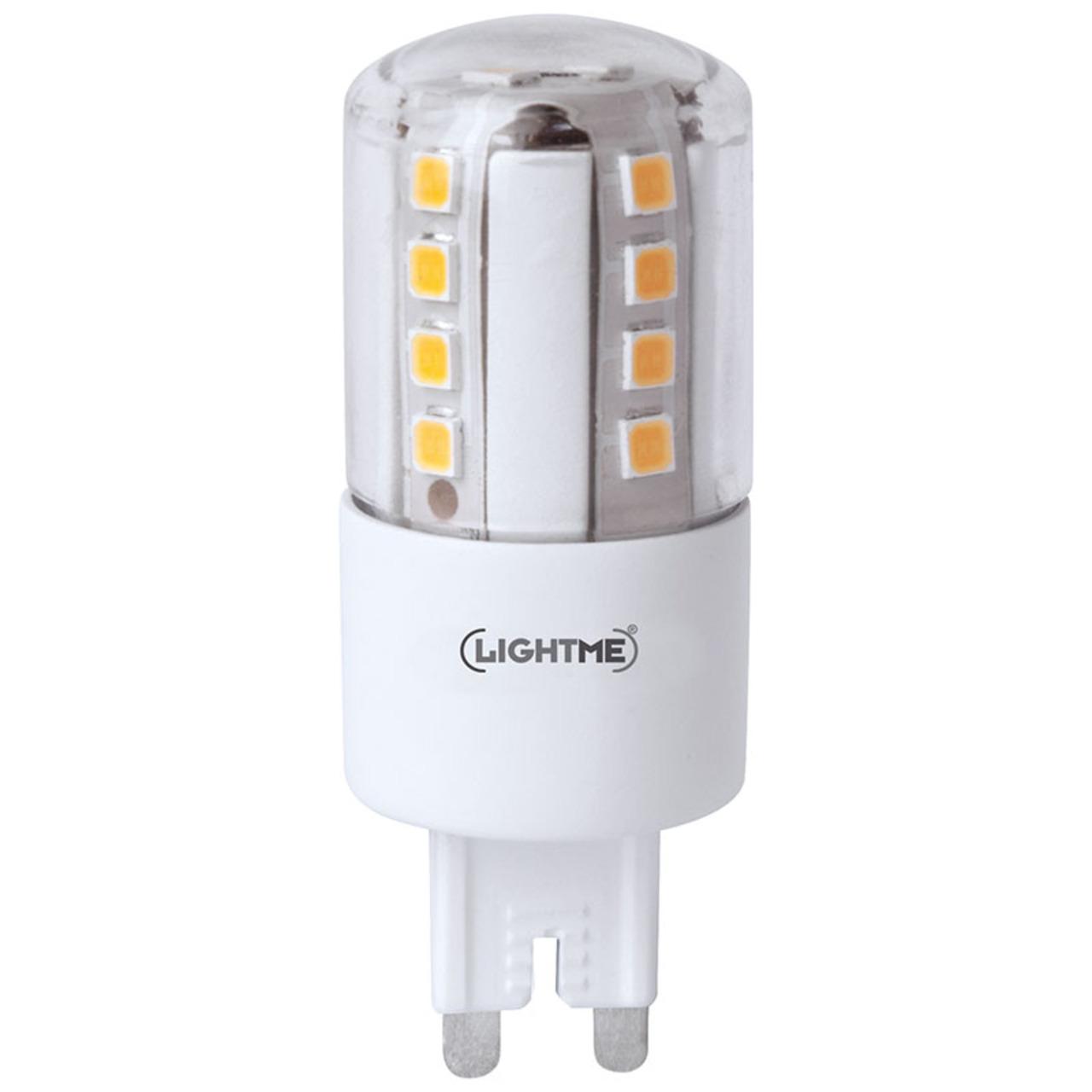 Lightme 4-5-W-G9-LED-Lampe- warmweiund-223 - dimmbar- 510 lm