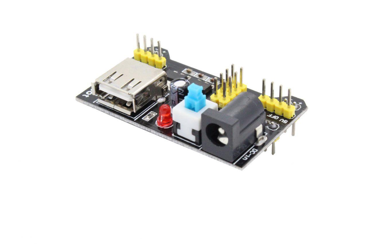 MB102 Stromversorgung für Steckboards - 3-3V und 5V