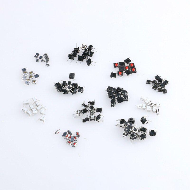 Microschalter - Drucktaster SMD-THT Sortiment 120 Stück 12 Grössen