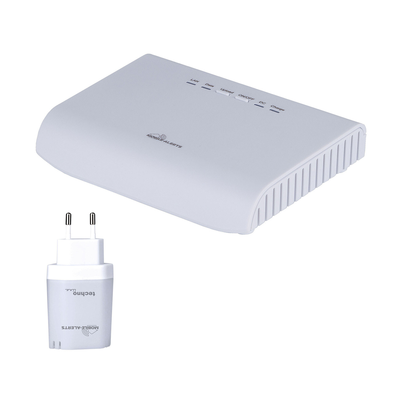 Mobile Alerts Gateway-Set MA12022 Gateway undamp  MA10870 Spannungsund-252 berwachungssensor