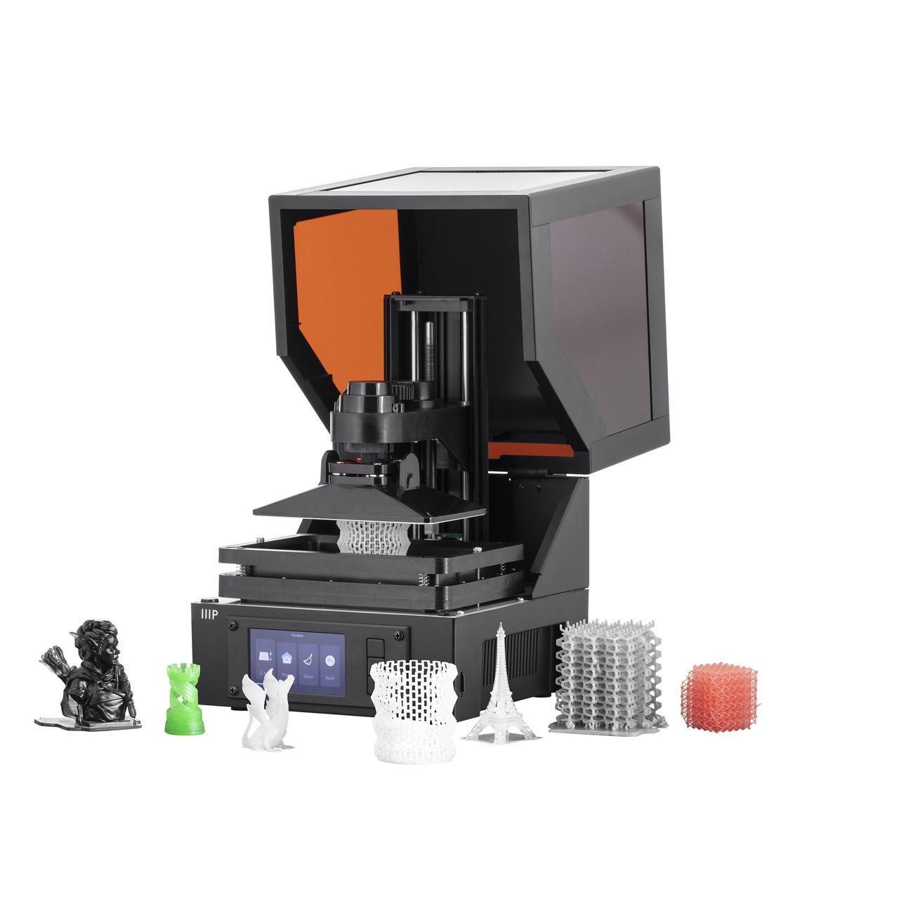Monoprice Mini-SLA-LCD-3D-Drucker MP Mini SLA- inkl- Harz-Resin- Fertiggerund-228 t