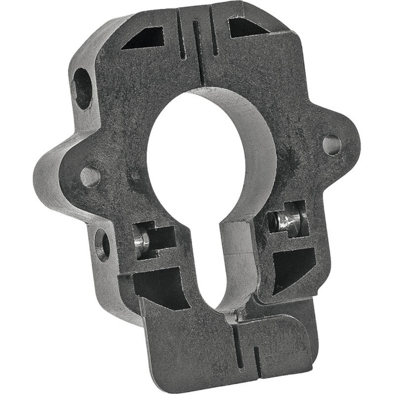 Montageplatte für Schweizer Schliesszylinder