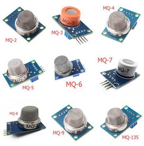 MQ-Serie- 9er Set Sensoren