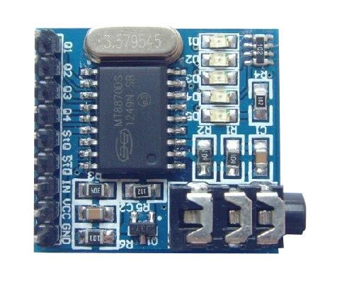 MT8870 DTMF Sprach-Audio-Decoder - Telefon Modul für Arduino Phone