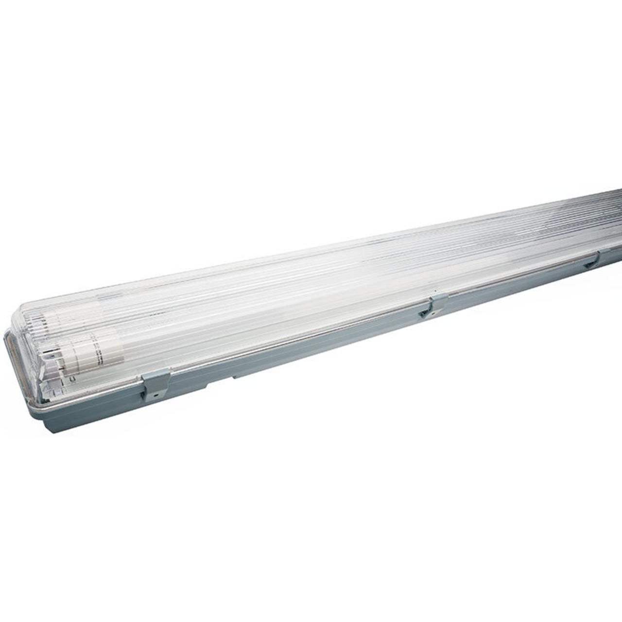 Müller Licht 36-W-LED-Feuchtraumwannenleuchte mit 2x 1700 lm - neutralweiss- 120 cm- IP65