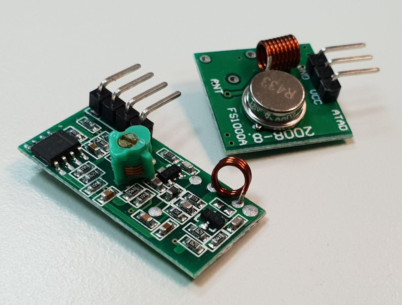 MX-05V 433MHz RF Funkmodul - Sender + Empfänger
