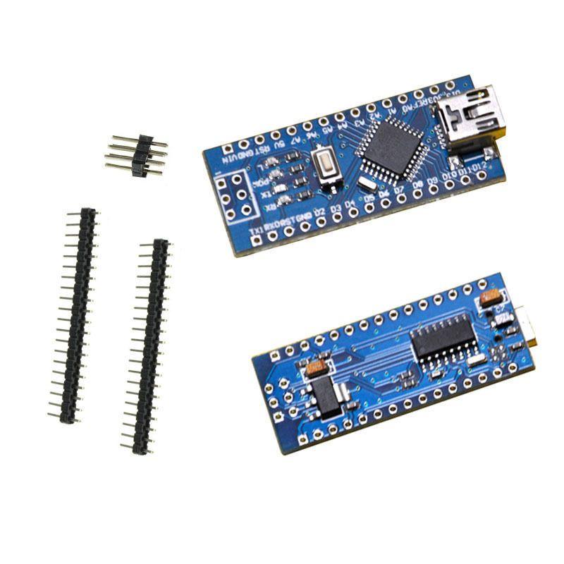 Nano Mega328P V3-0 USB CH340G Board-Set