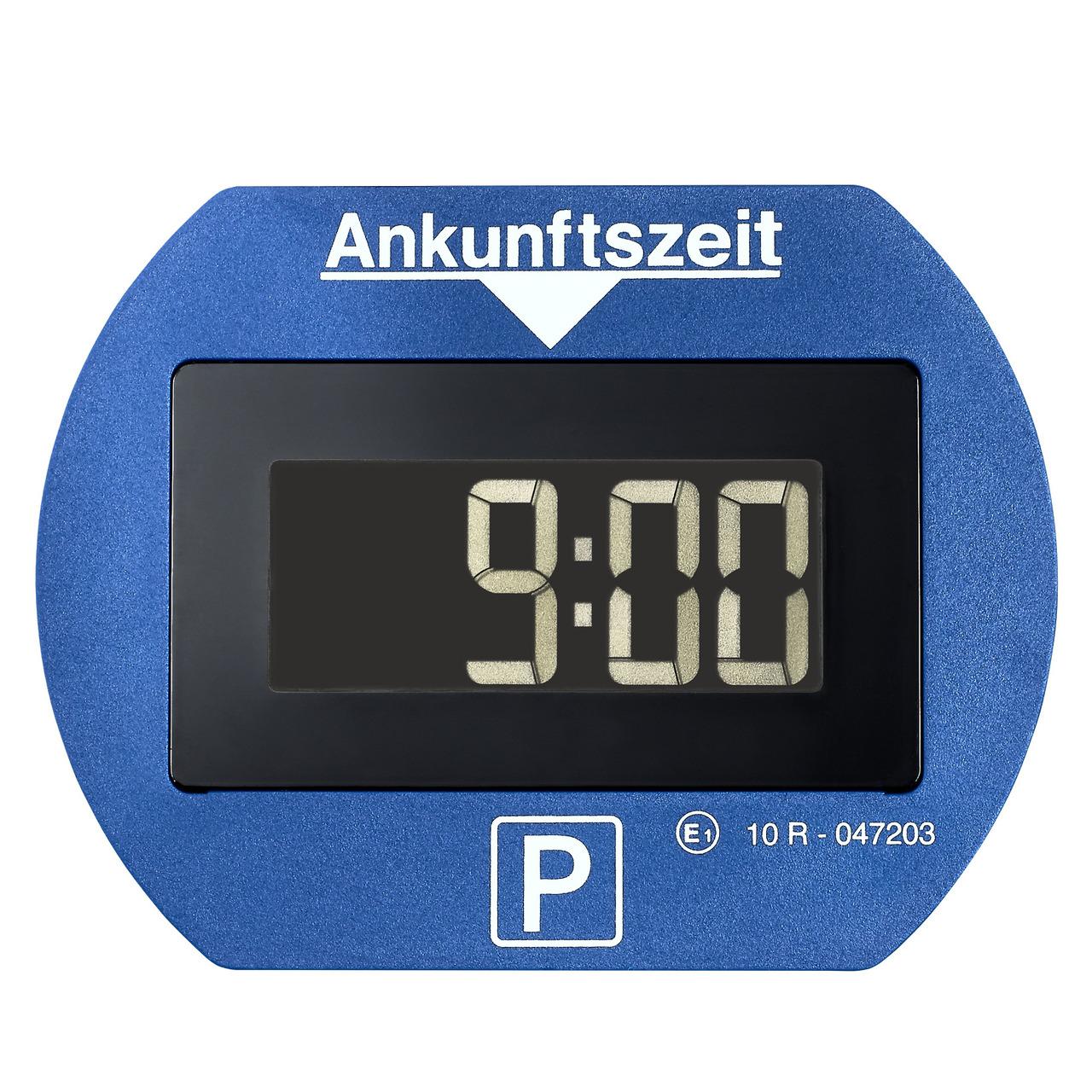 Needit Digitale Parkscheibe PARK LITE- automatische Parkzeiteinstellung- blau