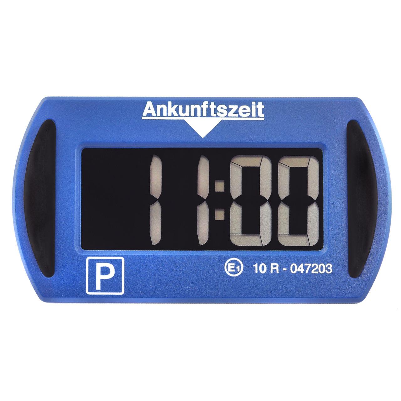Needit Digitale Parkscheibe PARK MINI- automatische Parkzeiteinstellung- blau