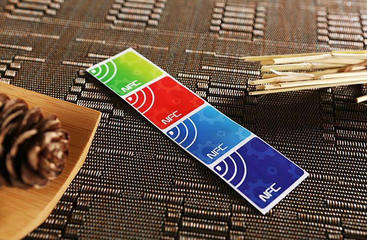 NFC TAG Aufkleber Chip nTag203 7er Set