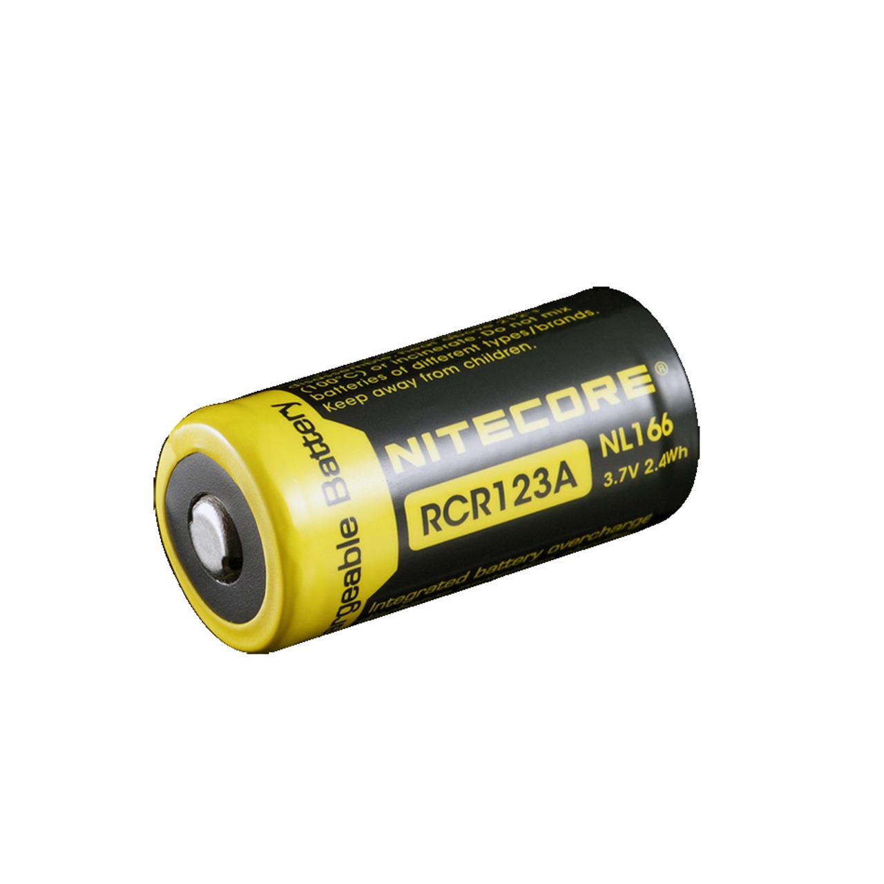 NiteCore Lithium Ion Akku 16340- 650 mAh NL166