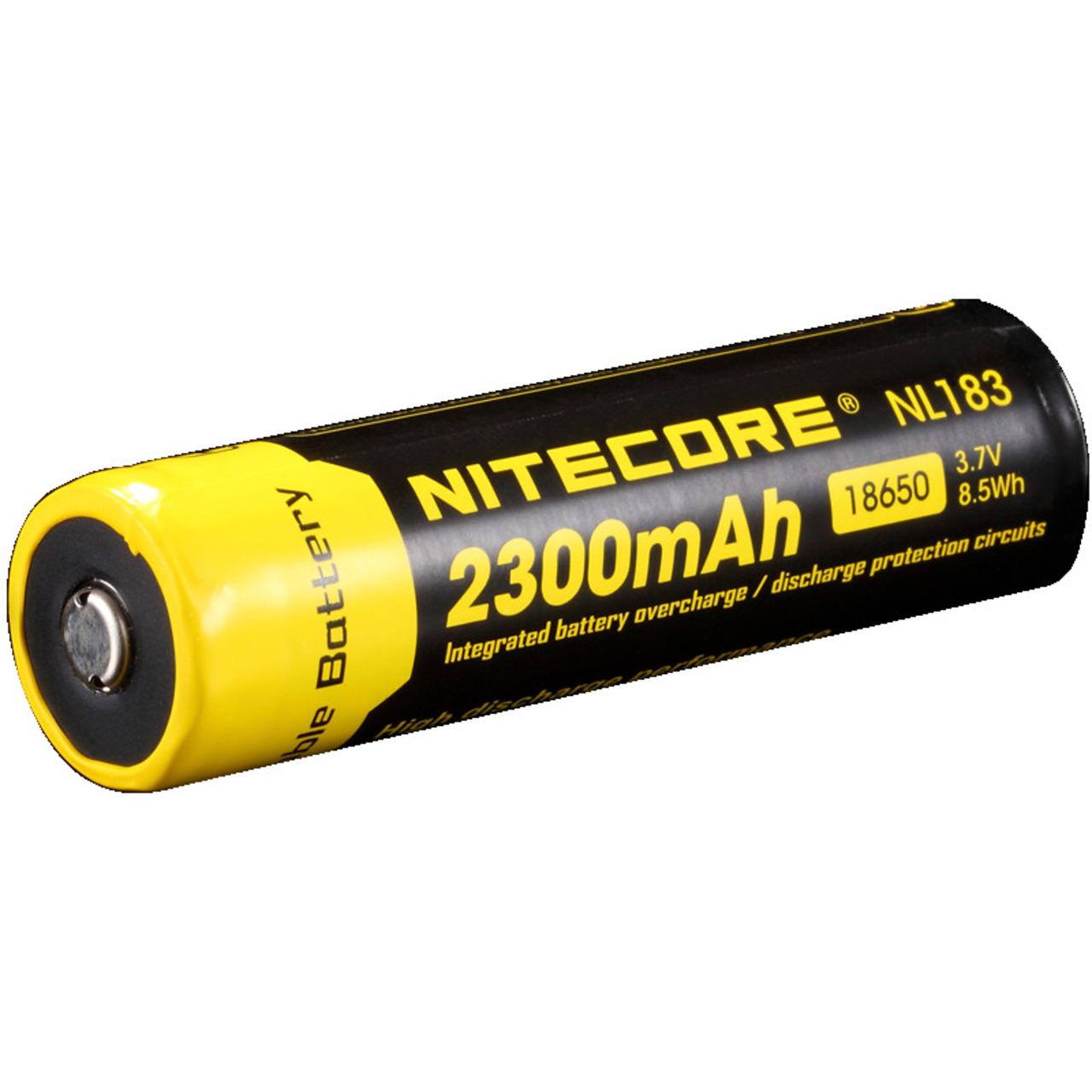 NiteCore Lithium Ion Akku 18650- 2300 mAh NL1823