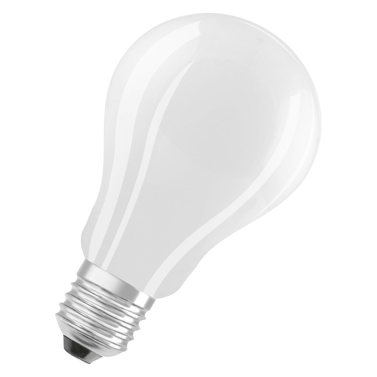 OSRAM 16-W-LED-Lampe A70- E27- 2500 lm- neutralweiss- matt