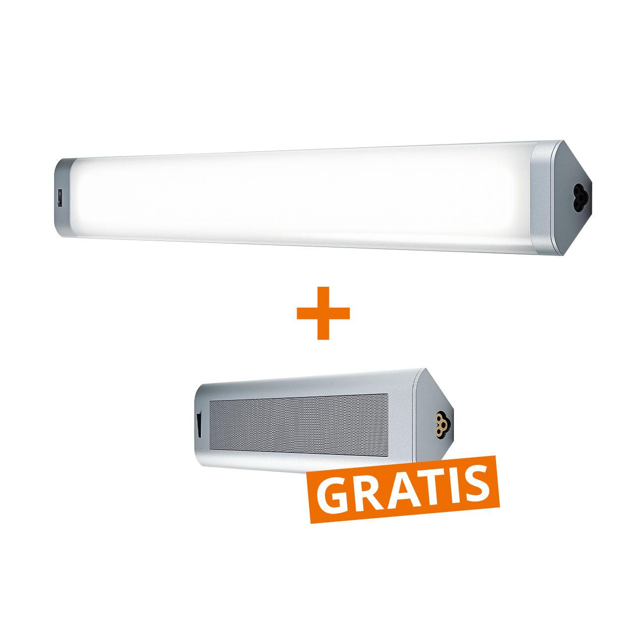 OSRAM 18-W-LED-Unterbauleuchte- 80 cm- warmweiss + GRATIS Bluetooth-Lautsprecher
