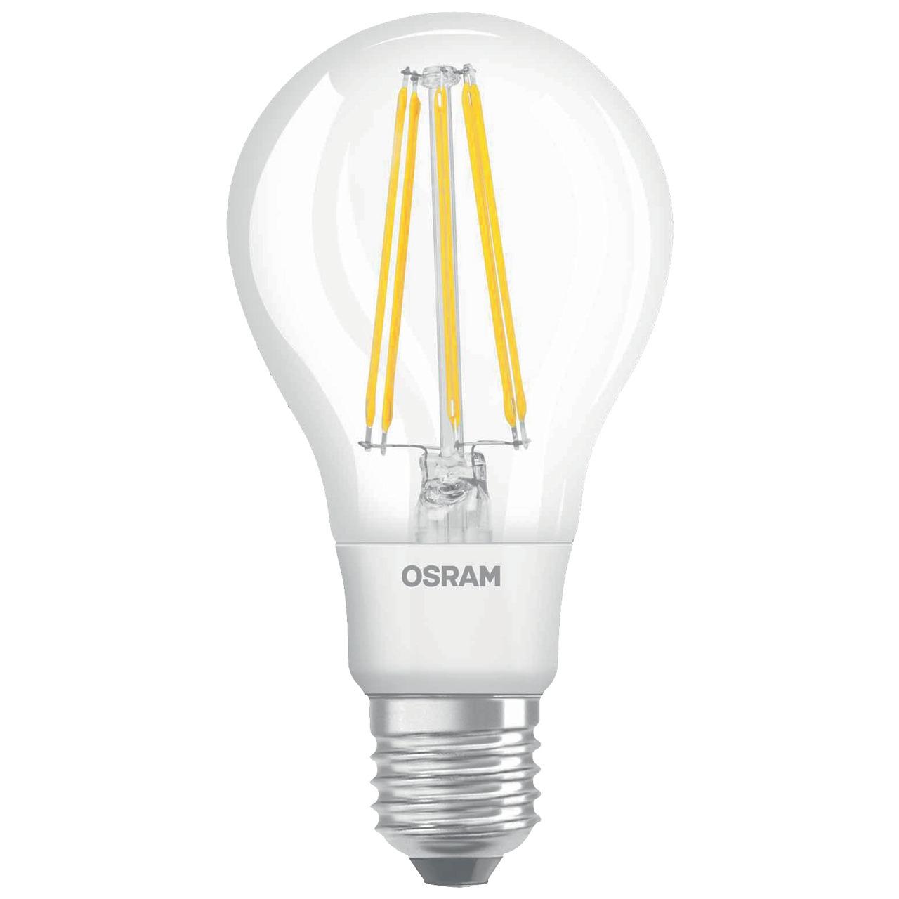 OSRAM LED RETRO Glass Bulb 10-W-LED-Lampe E27- klar