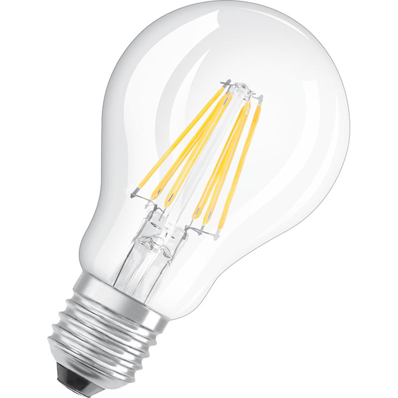 OSRAM LED RETRO Glass Bulb 8-W-LED-Lampe E27- klar