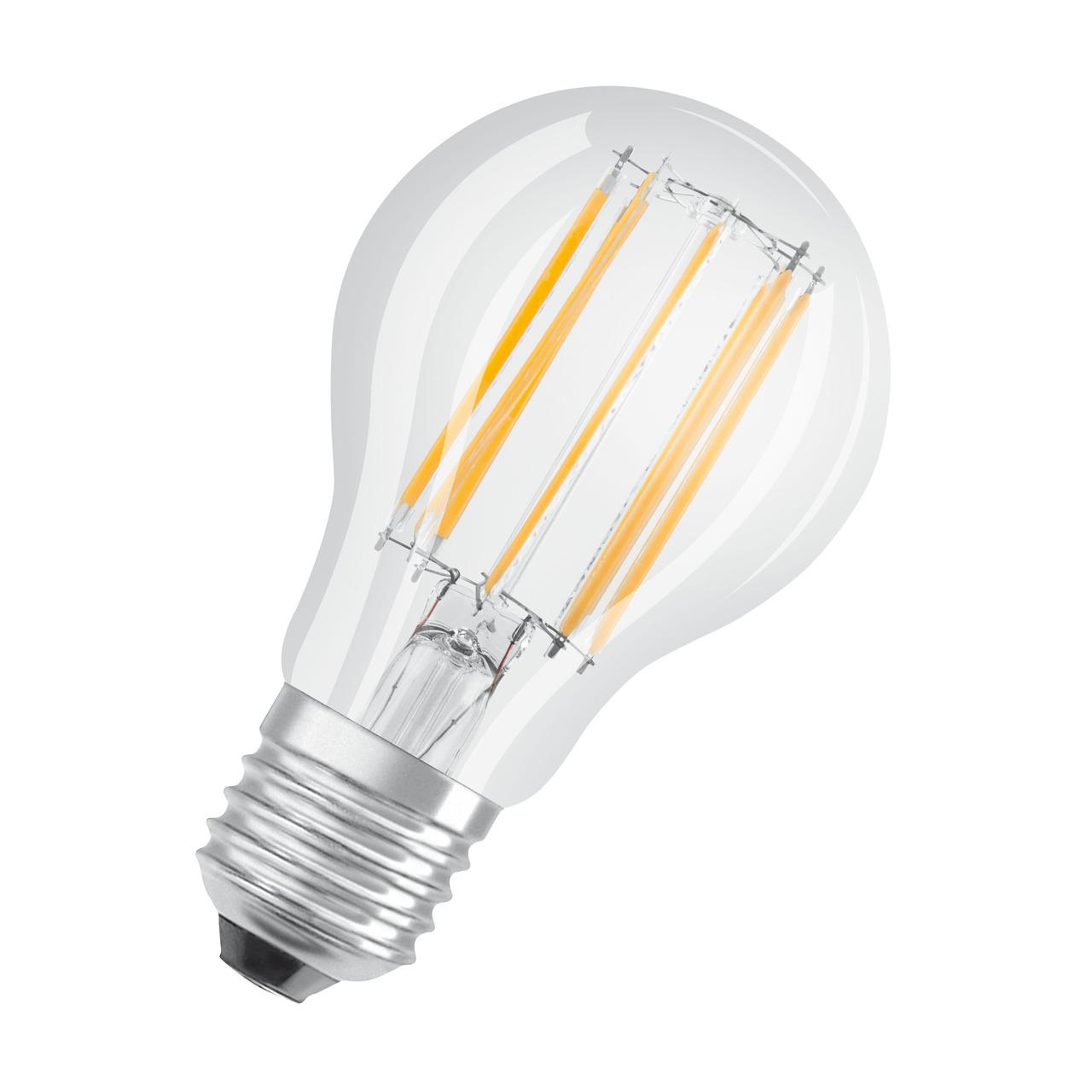OSRAM LED STAR 10-W-Filament-LED-Lampe E27- neutralweiss-klar