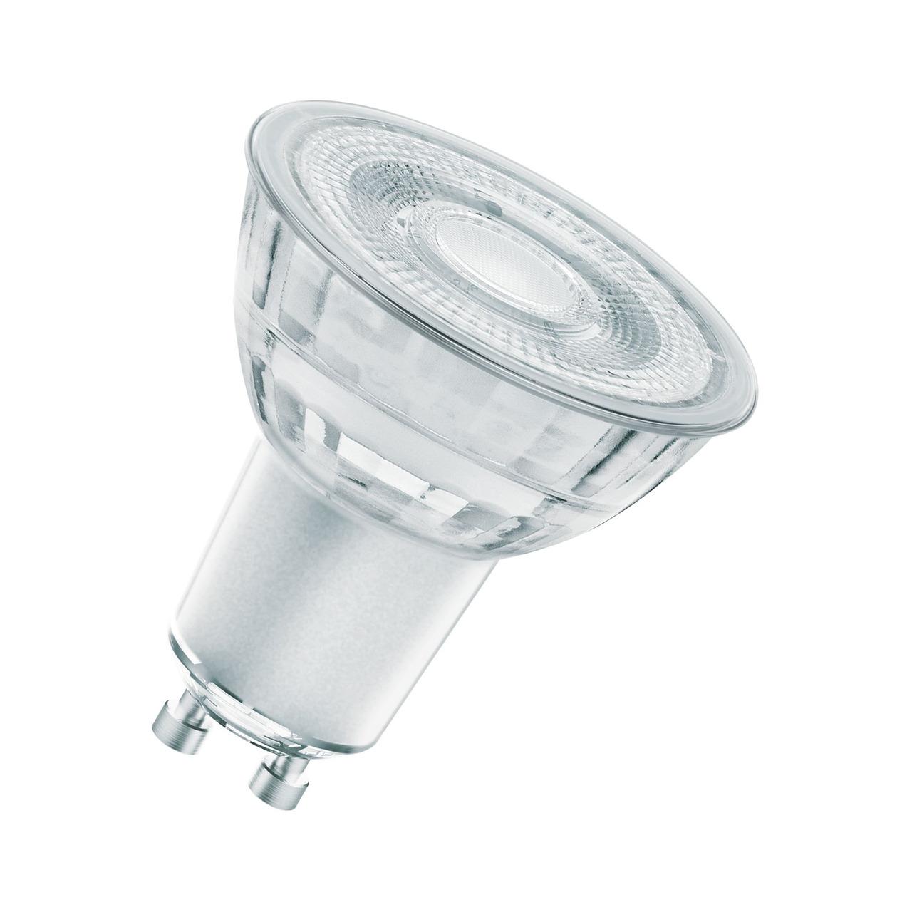 OSRAM LED STAR Plus 4-5-W-GU10-LED-Lampe 36- warmweiss- dimmbar (GLOWdim)