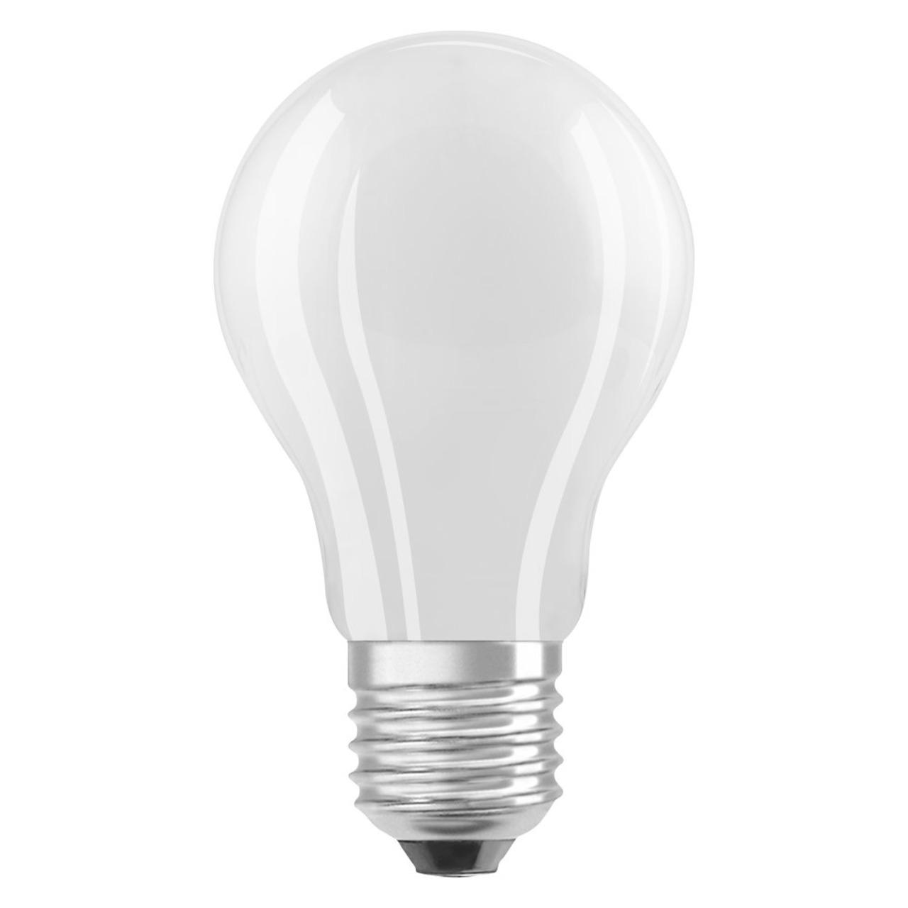 OSRAM LED Superstar 12-W-Filament-LED-Lampe E27- neutralweiss- matt- dimmbar