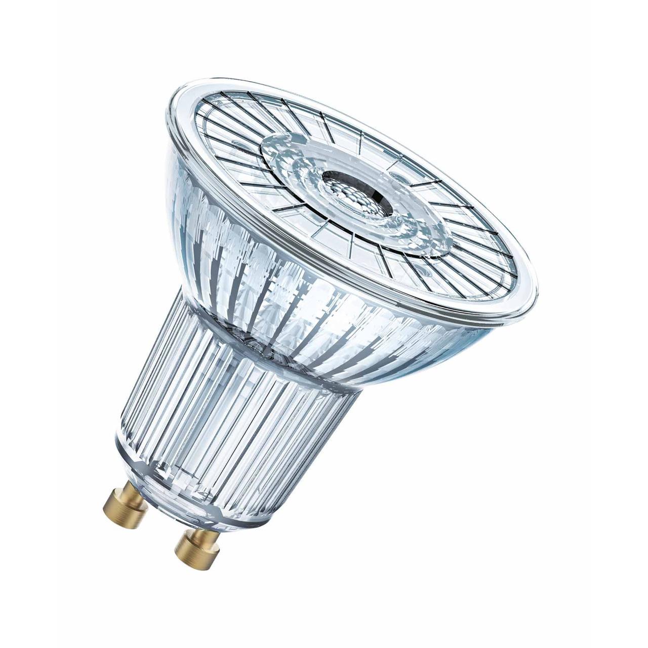 OSRAM LED SUPERSTAR 8-3-W-GU10-LED-Lampe- neutralweiss- dimmbar- mit Glas-Reflektor
