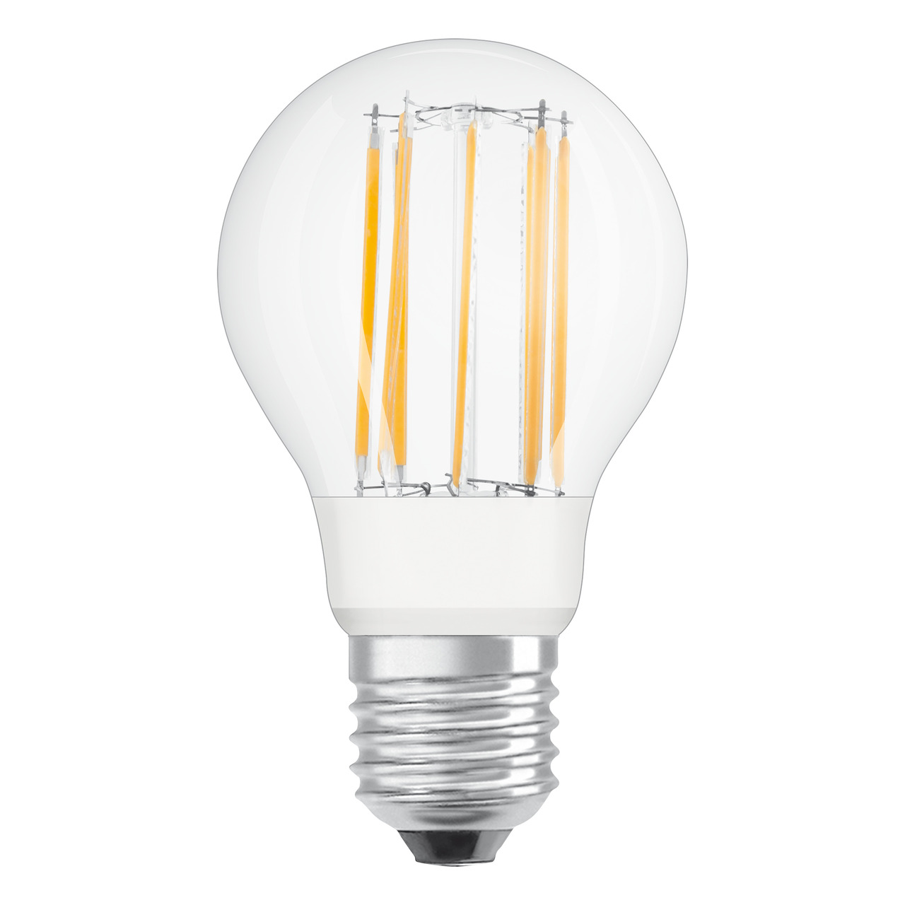 OSRAM LED SUPERSTAR RETROFIT 9-W-Filament-LED-Lampe E27- warmweiss- klar- dimmbar