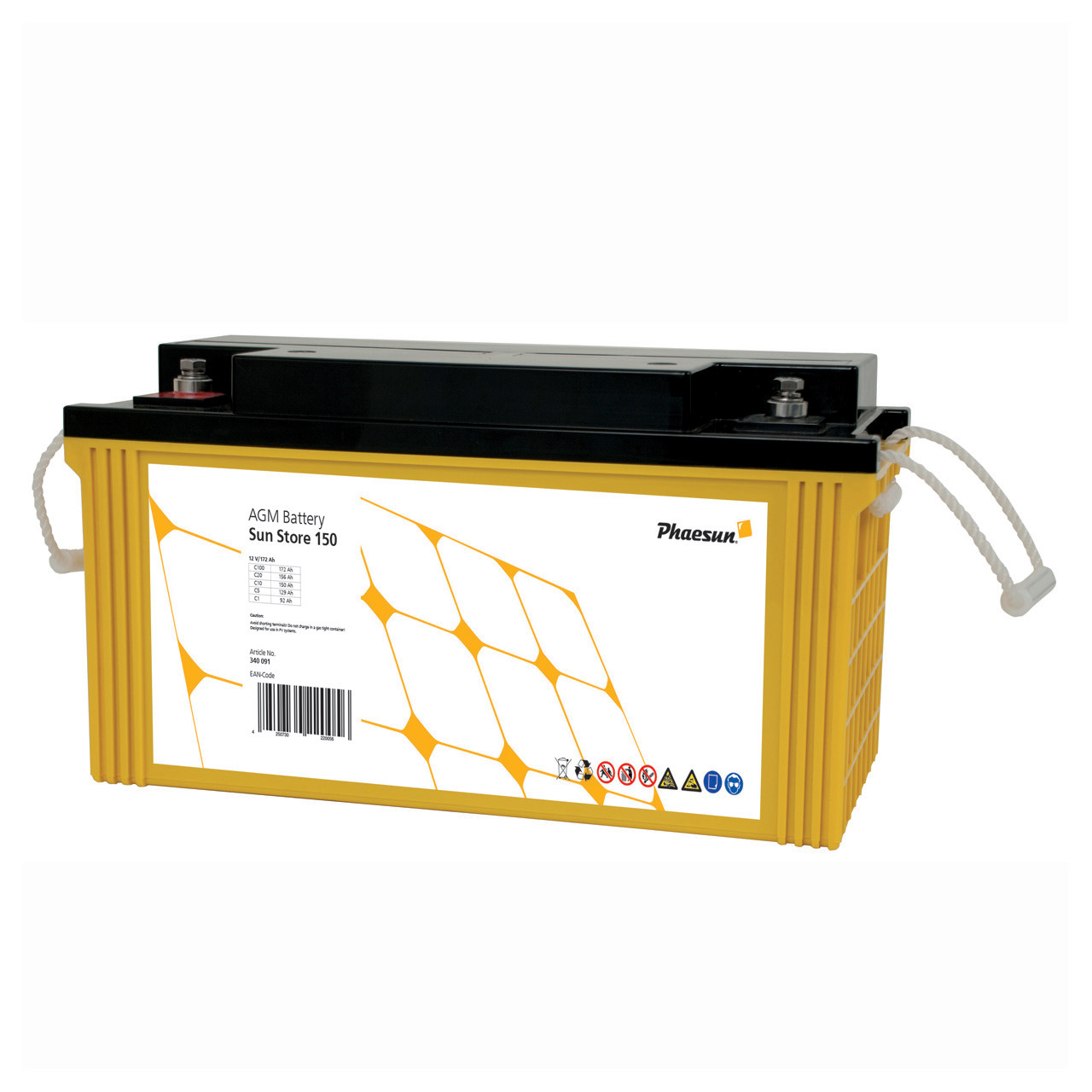 Phaesun Blei-AGM-Akku Sun Store 150- 12 V- 150 Ah