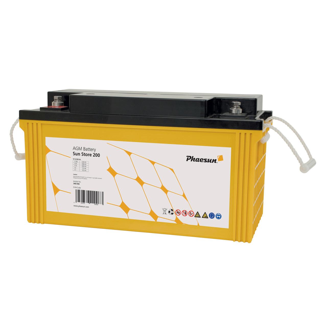 Phaesun Blei-AGM-Akku Sun Store 200- 12 V- 200 Ah
