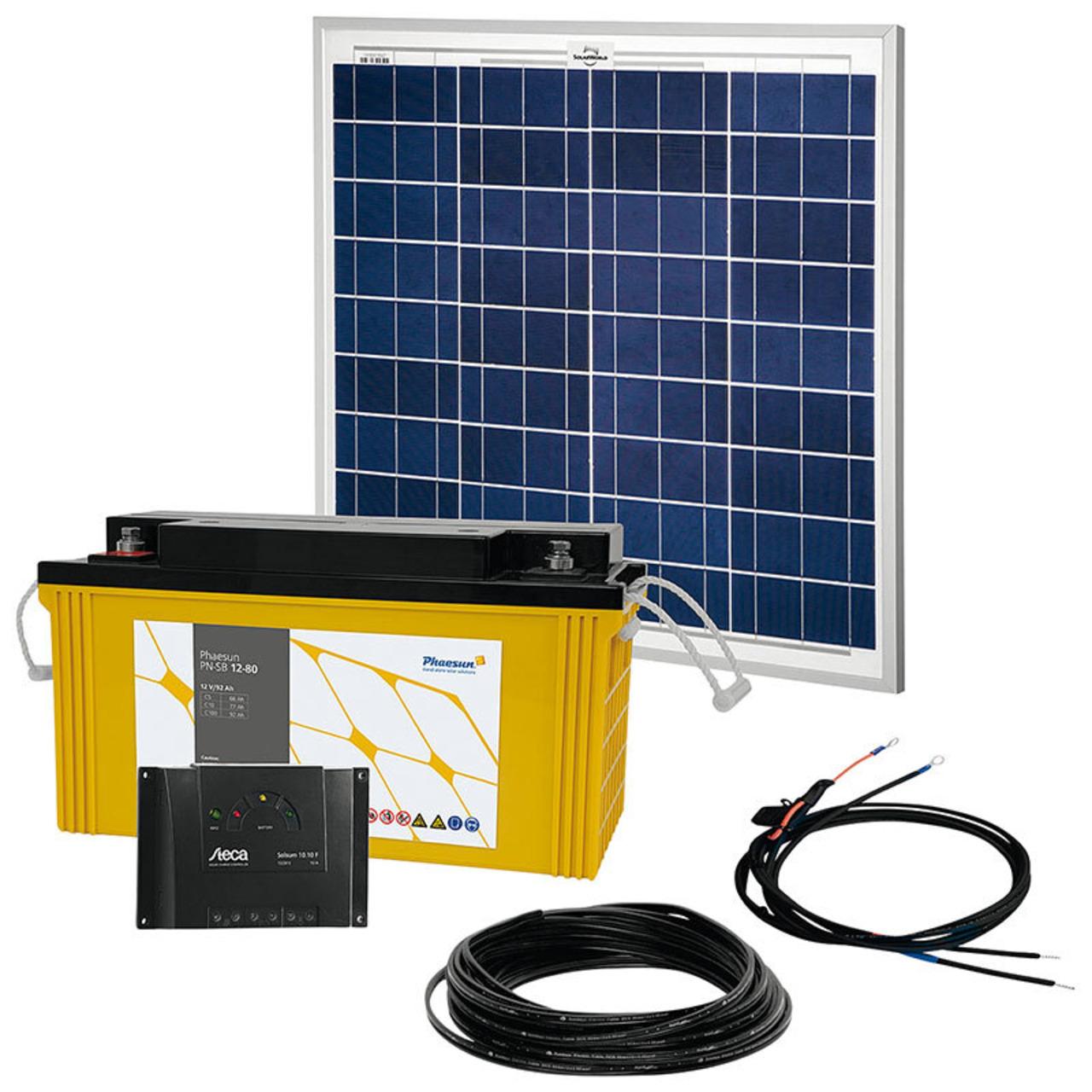 Phaesun Solar Komplett-Set Solar Rise One 2-0- 50 W- 12 V