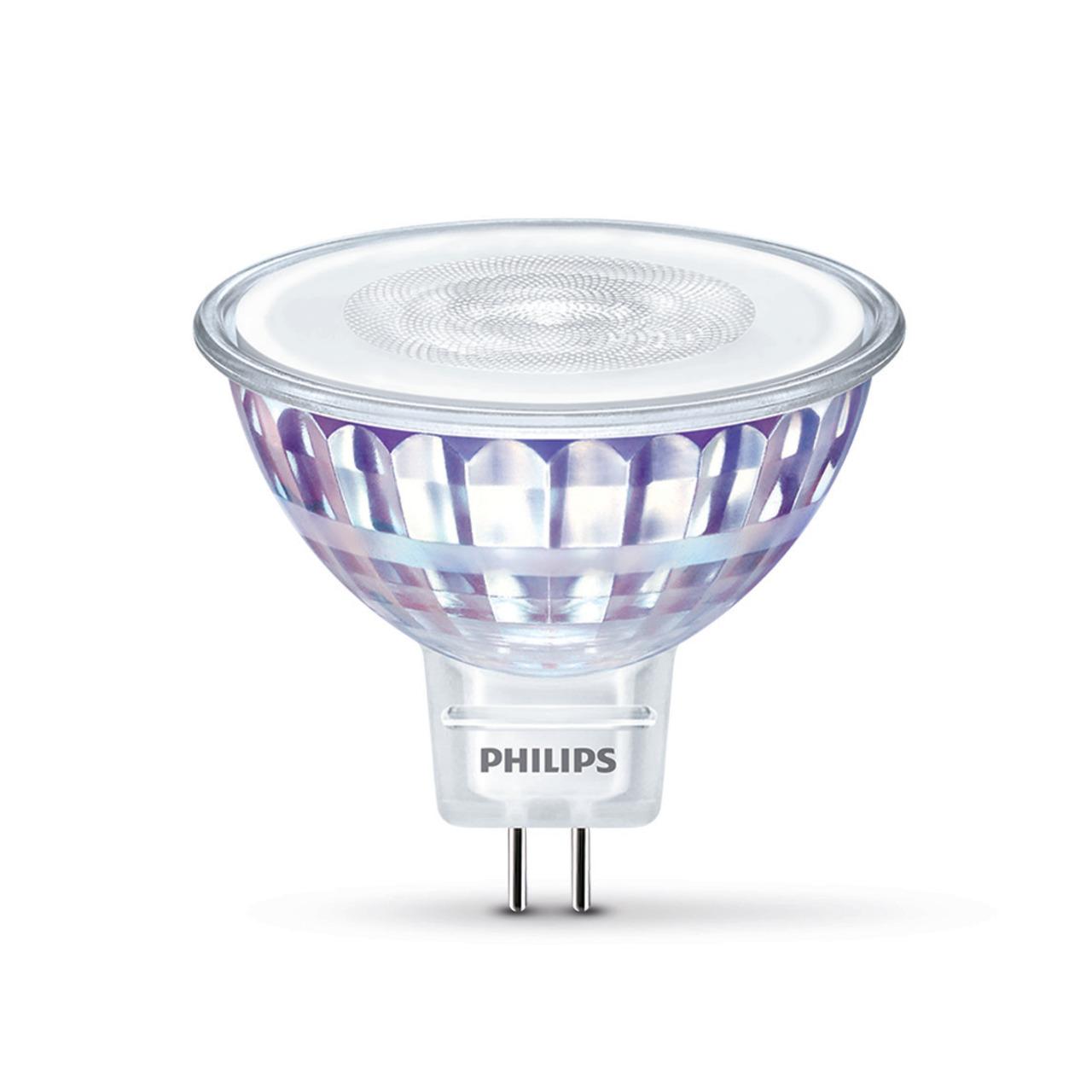 Philips 7-W-GU5-3-LED-Lampe- warmweiss- 12 V AC