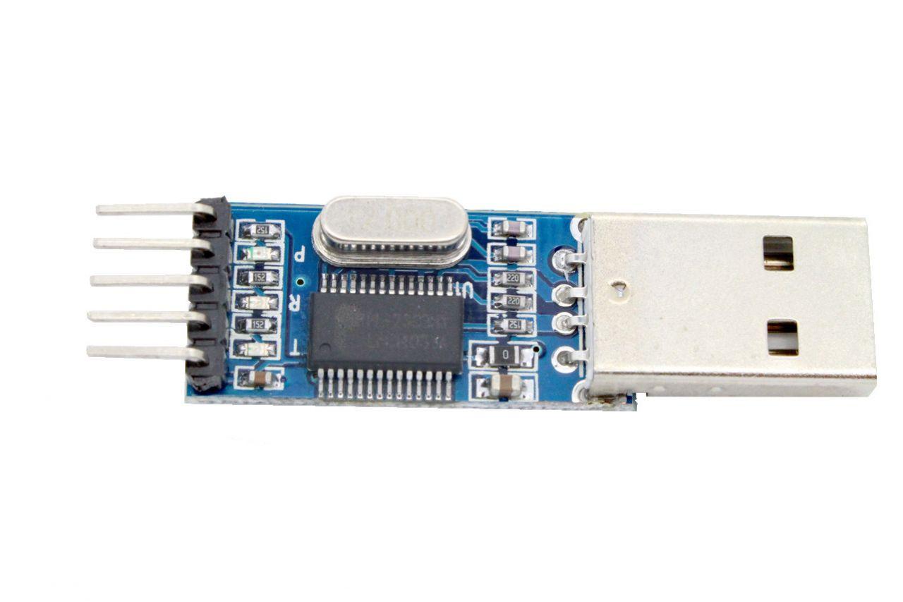 PL2303HX USB nach Seriell-RS232 Konverter - Adapter mit TTL-Pegel 3-3V - 5V