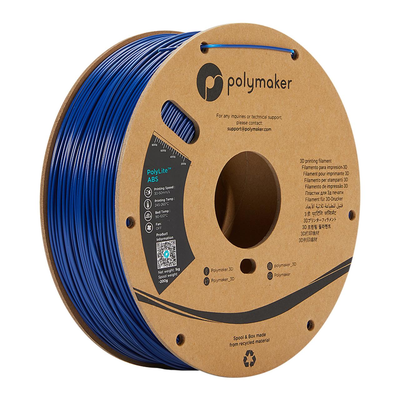 Polymaker Polylite ABS-Filament- blau- 1-75 mm- 1 kg