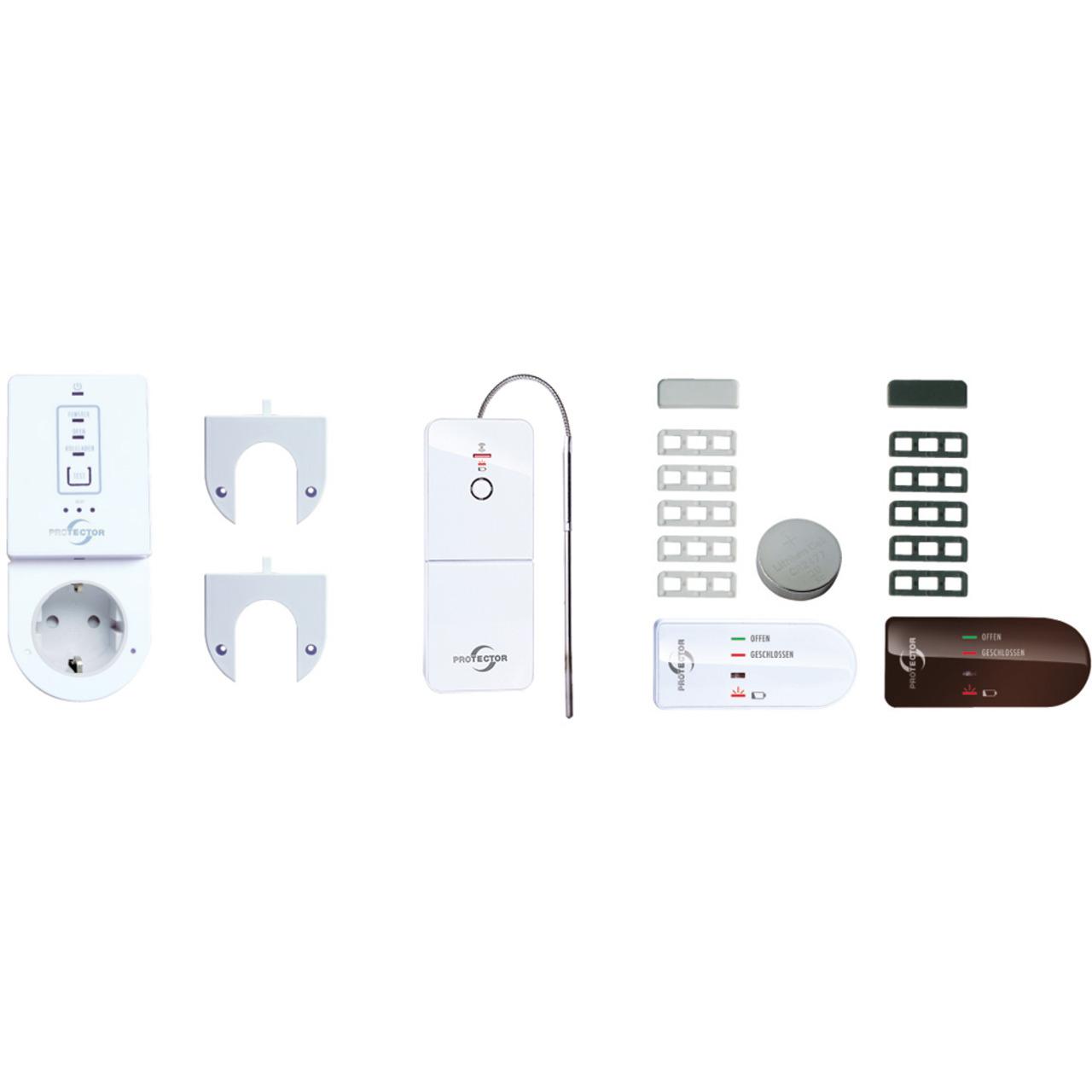 PROTECTOR AS-7030 Funk-Abluftsteuerung THERMO mit Fensterkontakt und Thermosensor