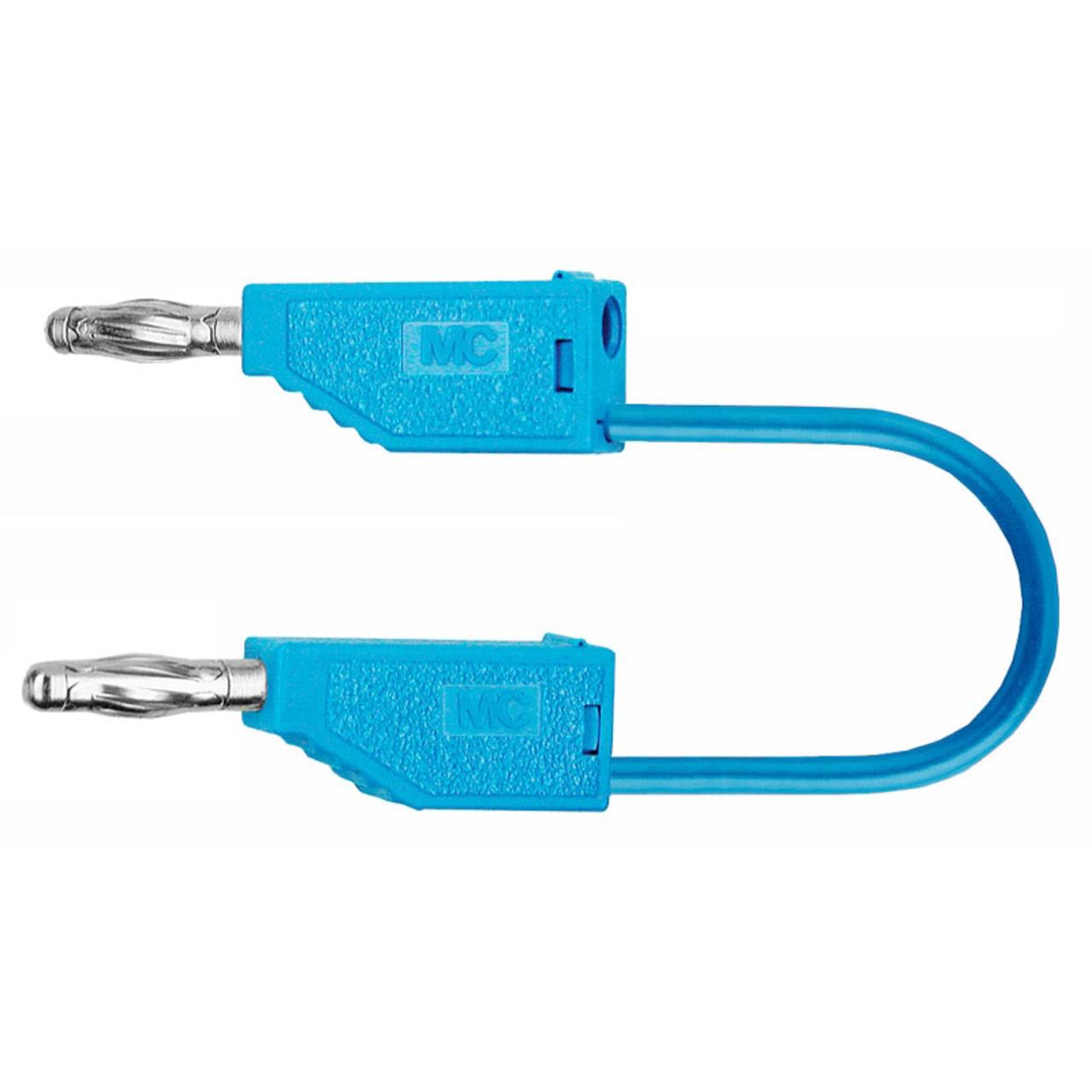 PVC-Verbindungsleitungen 32A- 2m- blau- 4 mm
