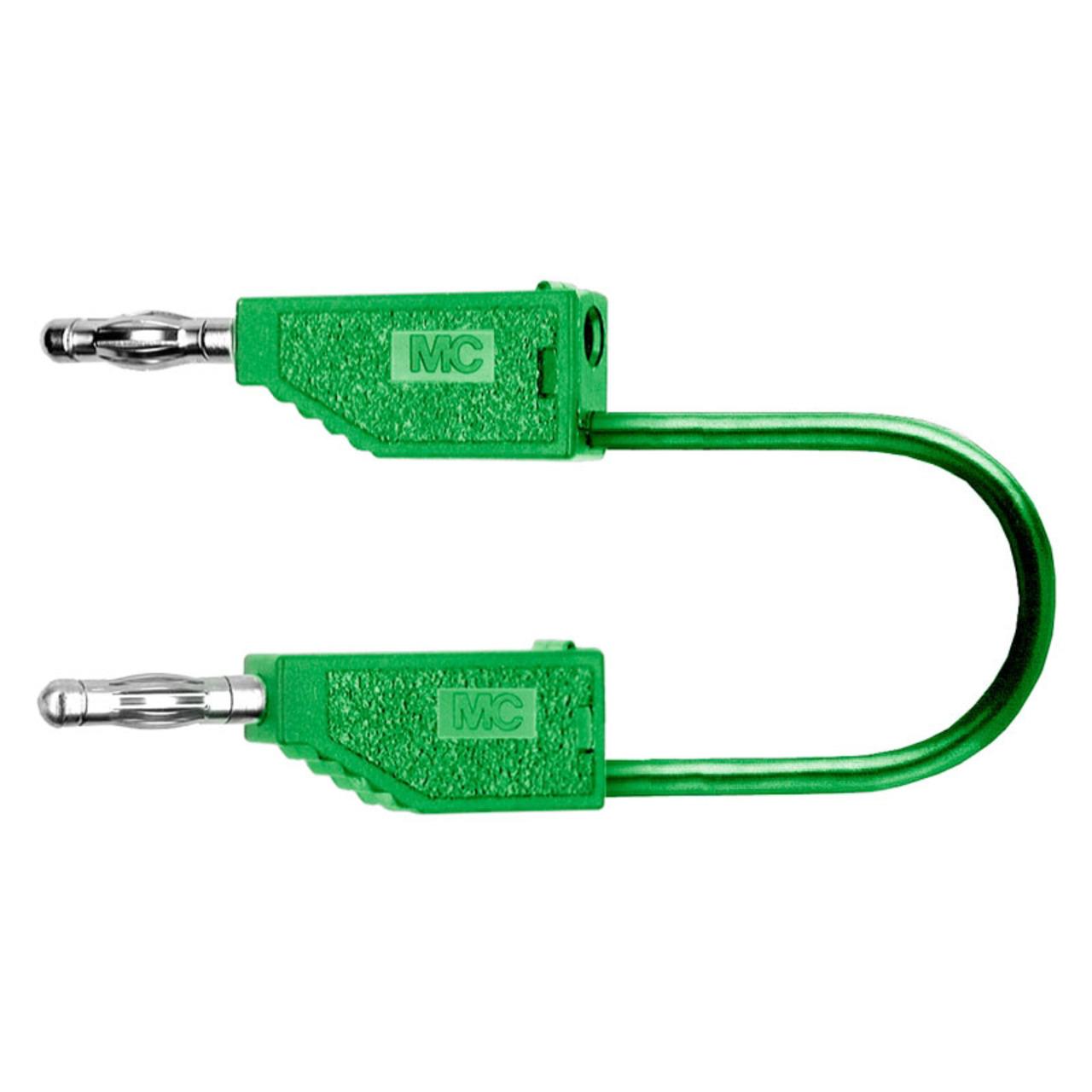 PVC-Verbindungsleitungen 32A- 2m- grün- 4 mm