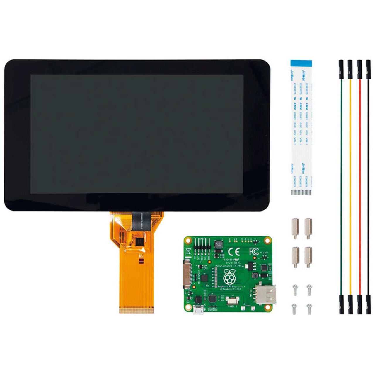 Raspberry Pi Touchscreen-Display 17-78 cm (7 Zoll)