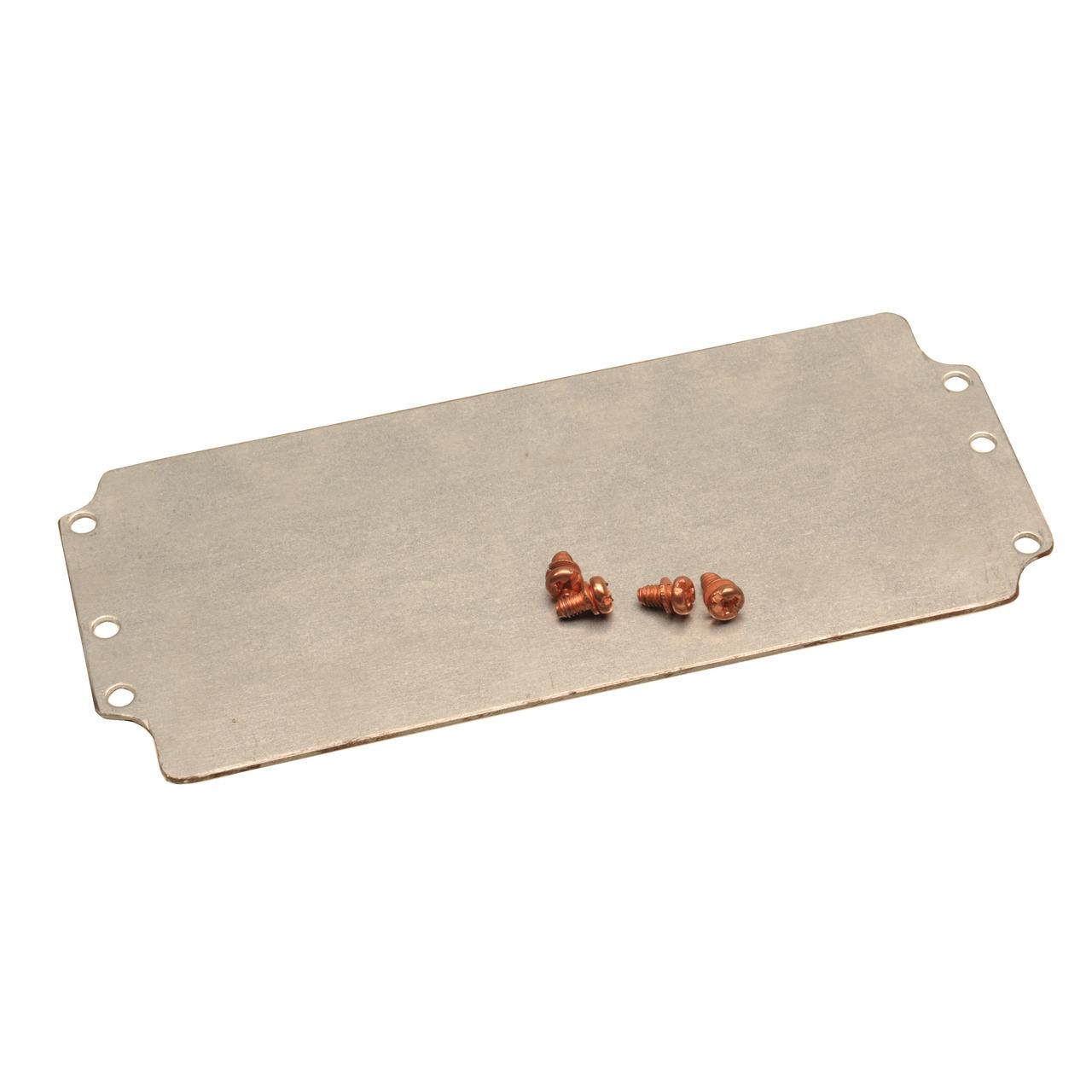 Raychem RPG Montageplatte für Alu-Druckguss-Metallgehäuse RJ08