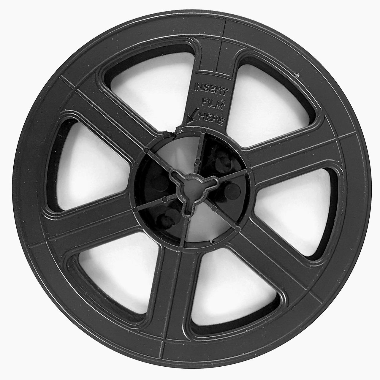 reflecta Ersatzspule für Super-8-Filme- geeignet für S8N8 und Super 8+