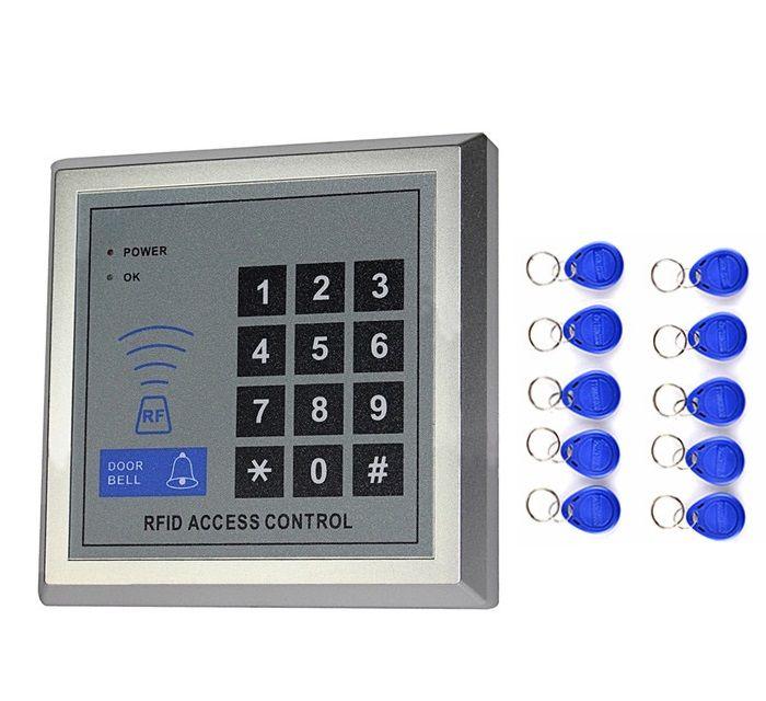 RFID Türschloss Zugangskontrolle + 10 RFID Tags