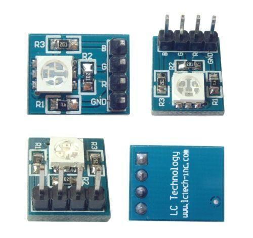 RGB SMD LED Modul 5050 3-3-5V für Arduino