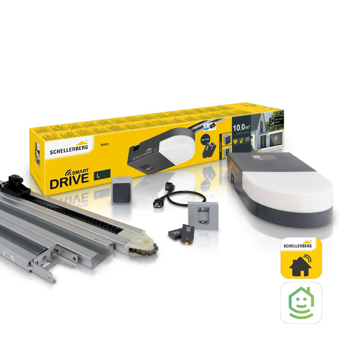 Schellenberg Garagentorantrieb Smart DRIVE L- 600 N- 868-4 MHz